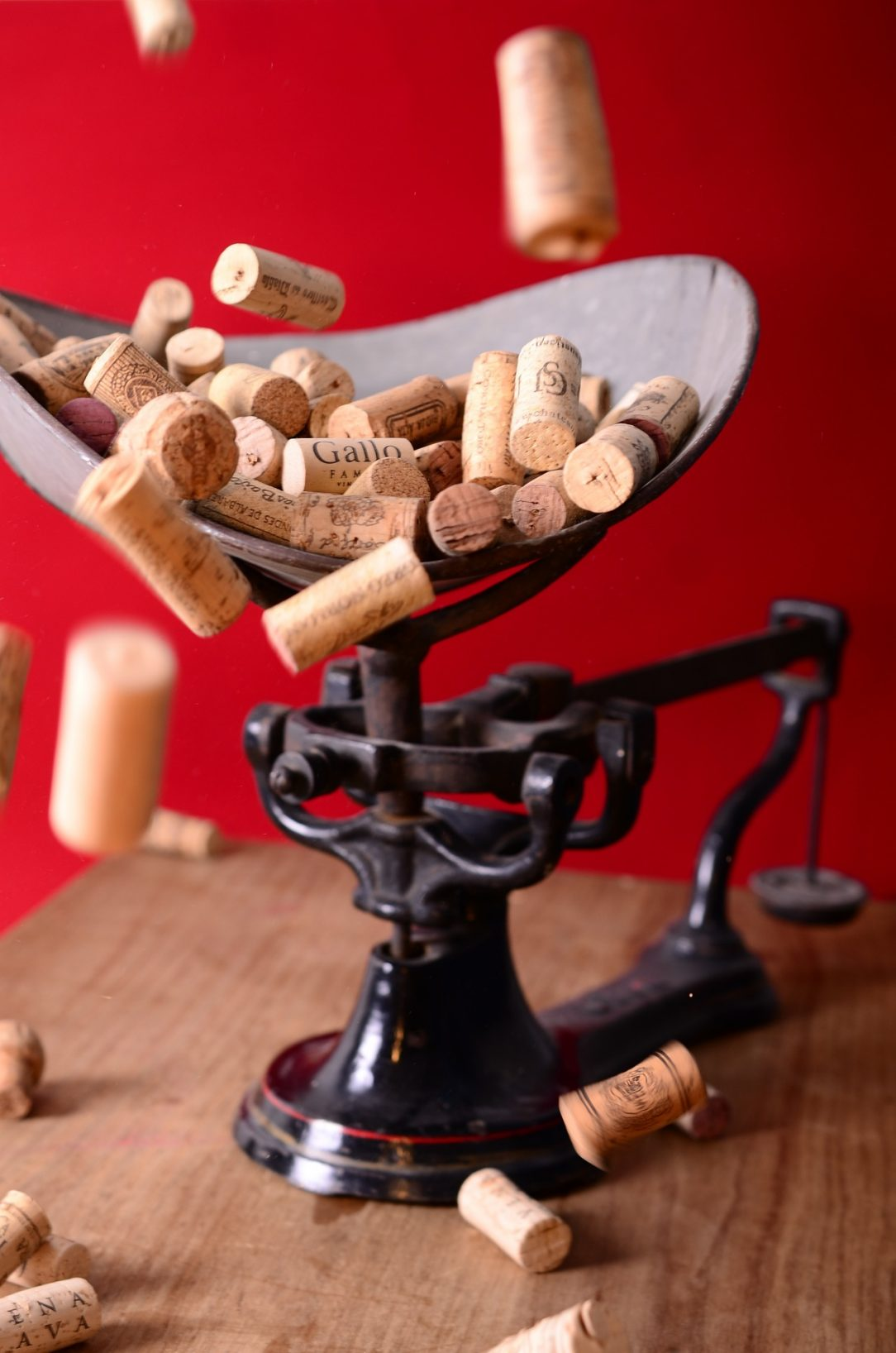 Corks, inspiration for sober