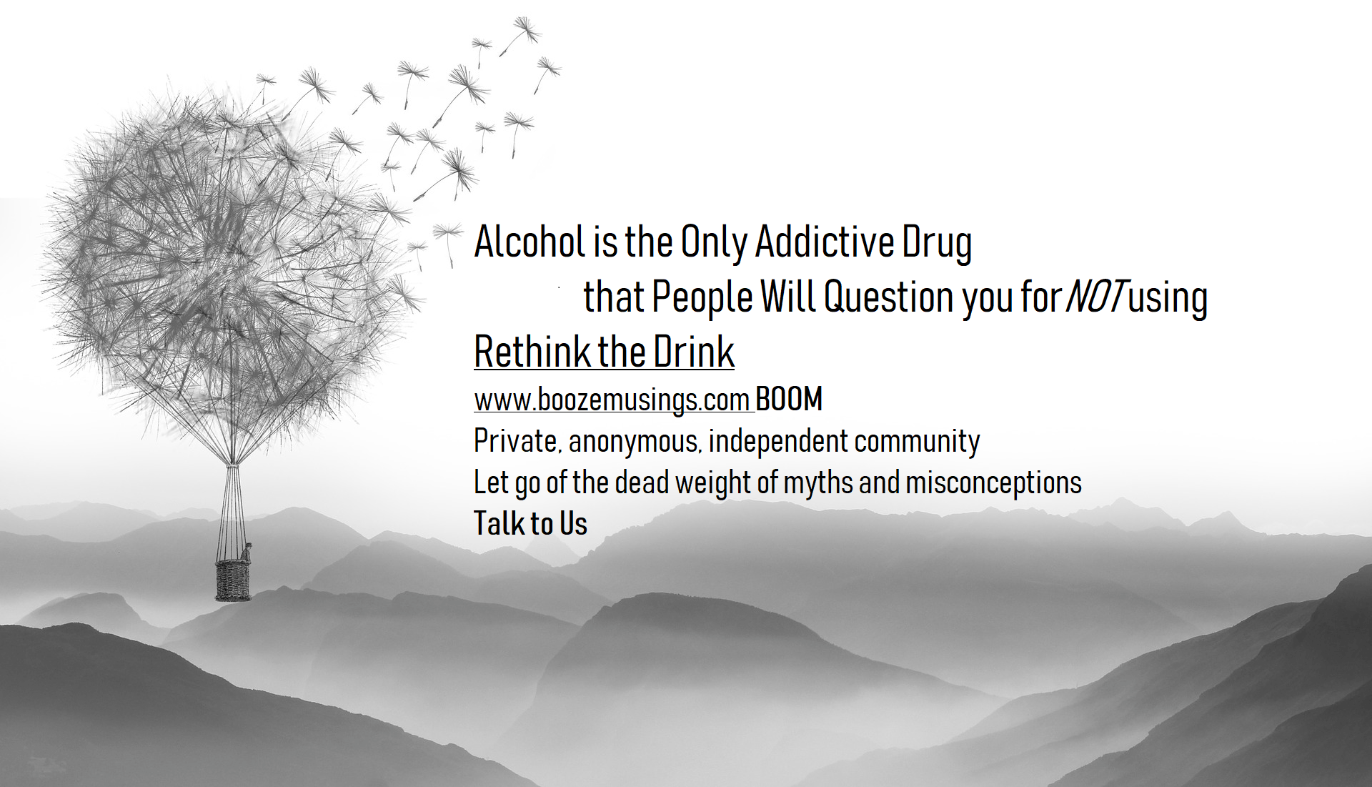 Am I an Alcoholic ? Boom Community Rethink the Drink