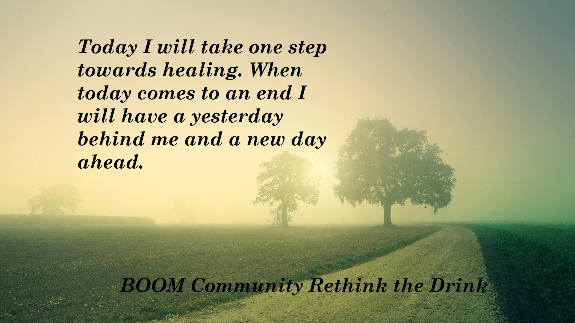 Boom Community Rethink the Drink