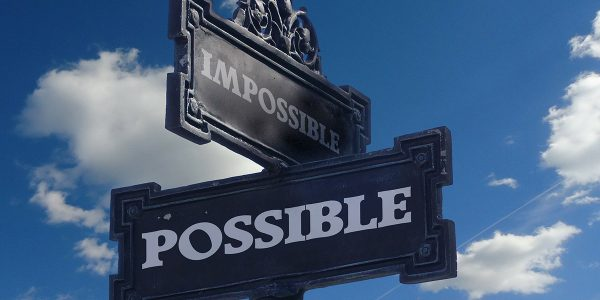 impossible possible sign