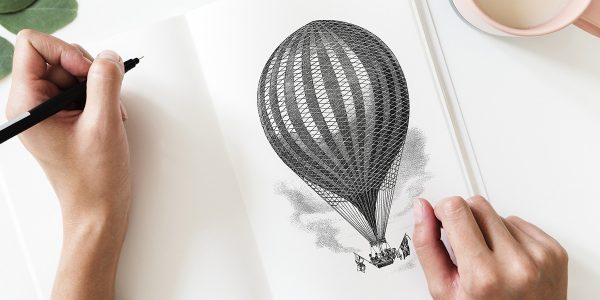 balloon drawing related with sobriety
