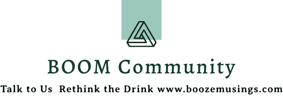 Boozemusings Boom community logo