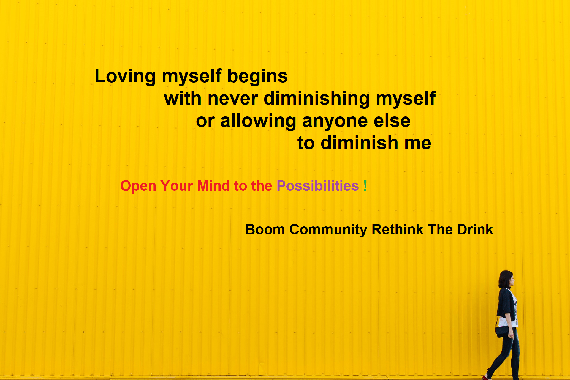 Invitation to join the alcohol help BOOM community