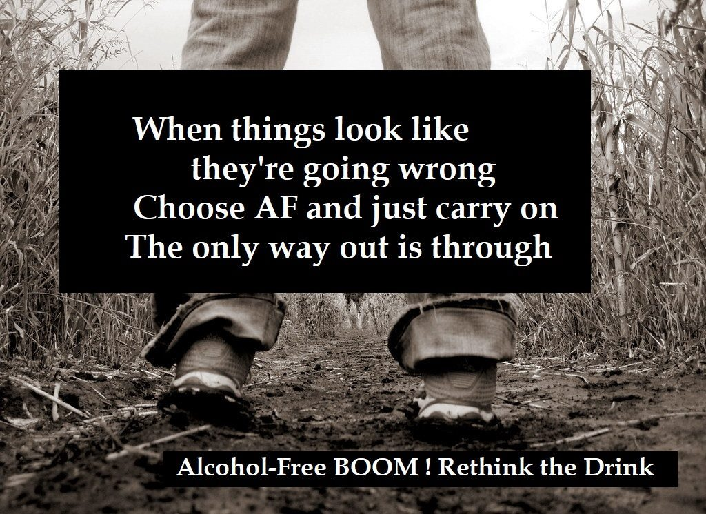 The Only Way Out is through BOOM