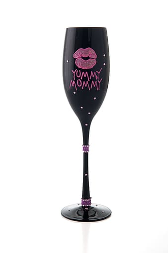 Yummy Mommy Wine Glass the Disney fication of drunk