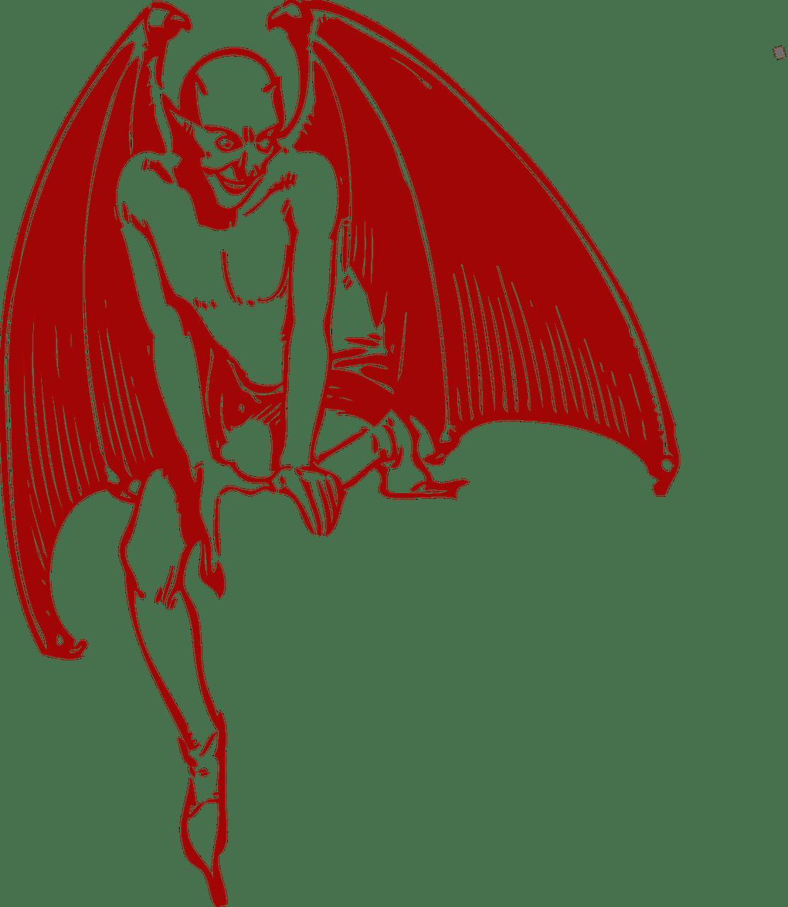 alcohol devil figure