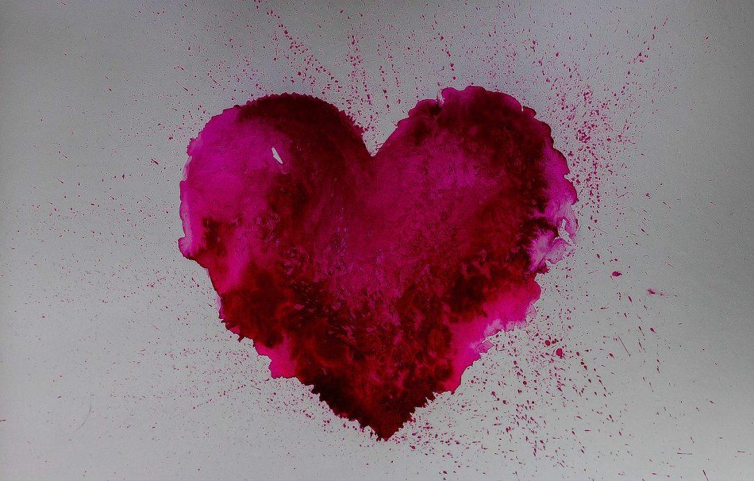 Splattered Heart- Drinking a Love Story
