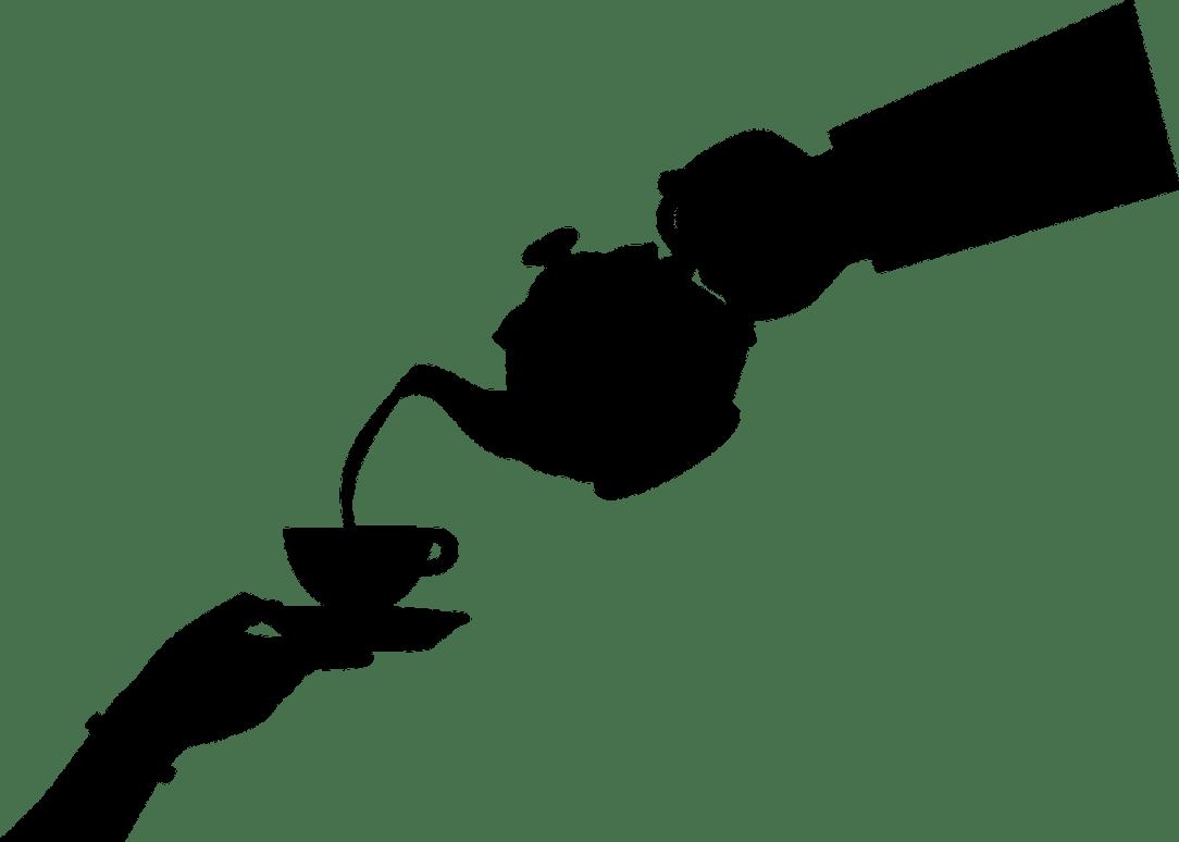 Serving tea instead of Wine time