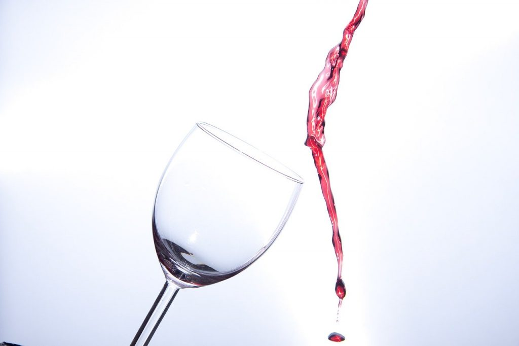 Wine escaping Glass