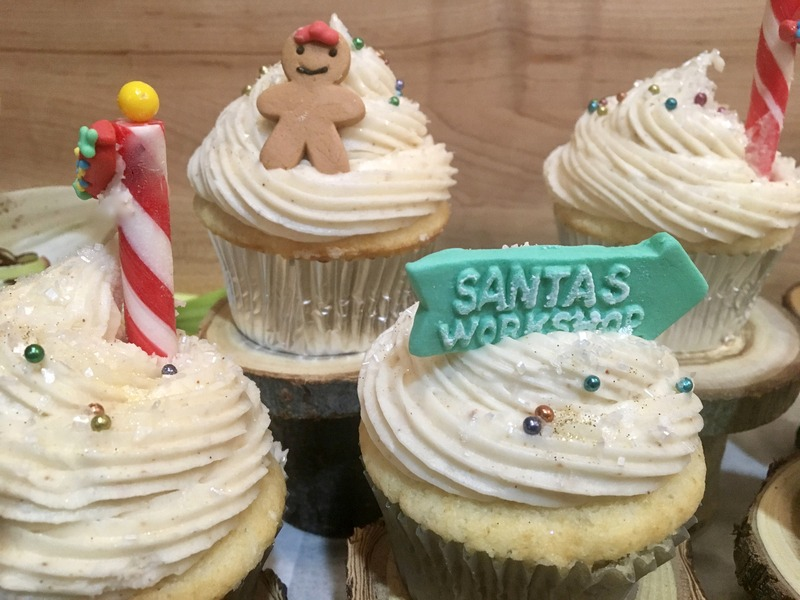 Cup Cakes alcohol-free Christmas gift