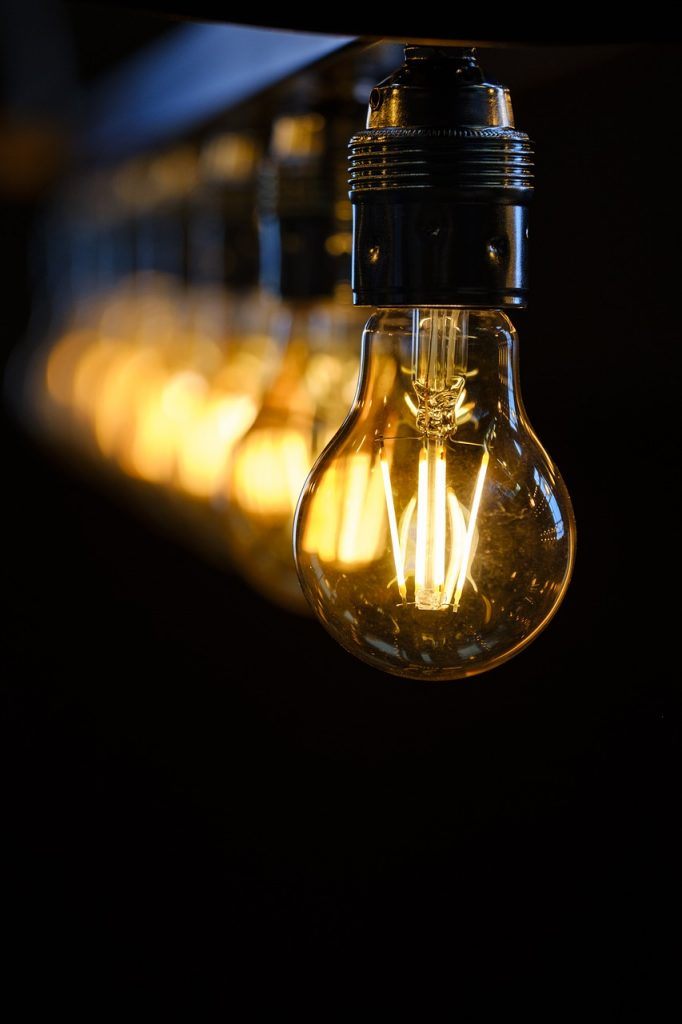 Light bulbs representing community Ideas on how to stop drinking