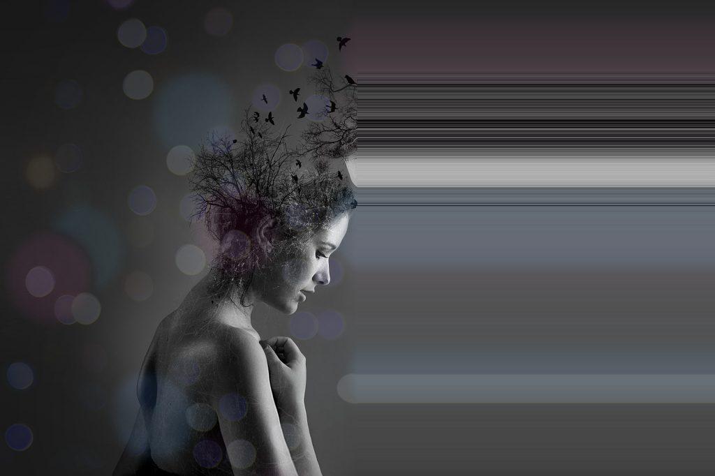 Woman Sensory Processing Sensitivity - Highly Sensitive Brain