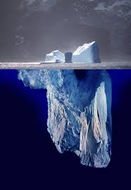 Iceberg- Alcoholism is just the tip of the iceberg