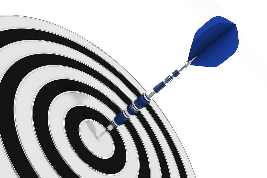 Bulls eye! Make this the Week that your sobriety takes off
