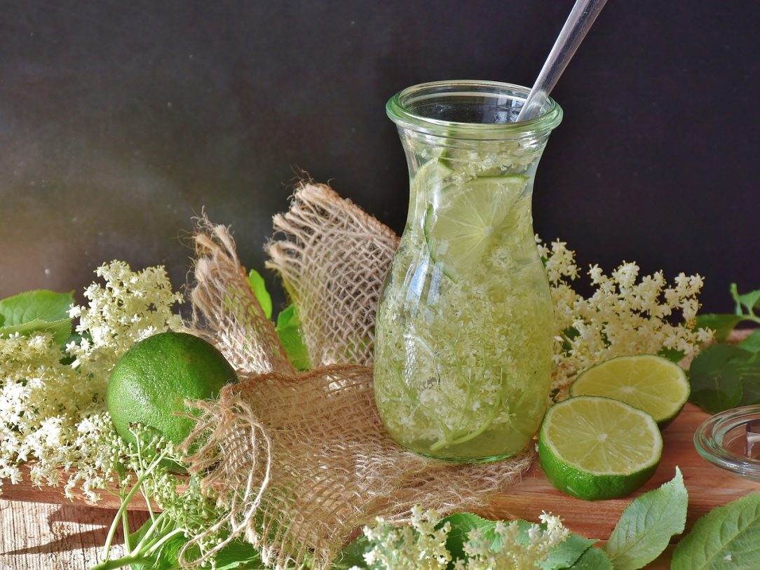 Elder flower cocktail - Hangover remedy for Covid19 Binge drinking