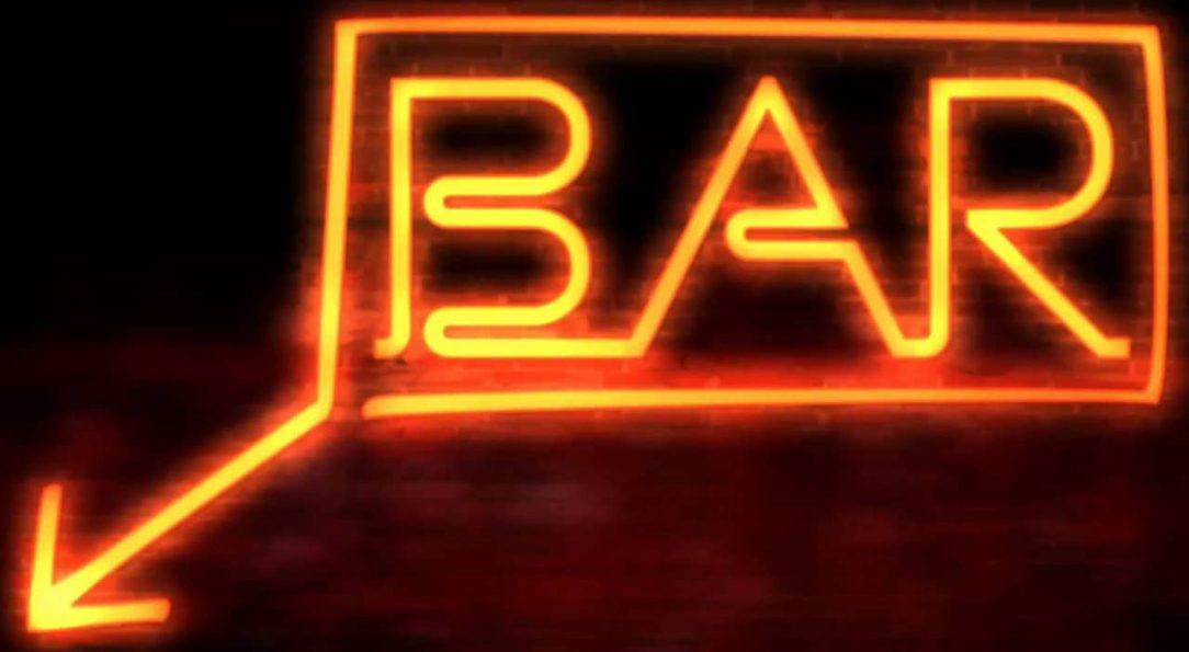 Neon Bar Sign Alcohol the Wonder Drug