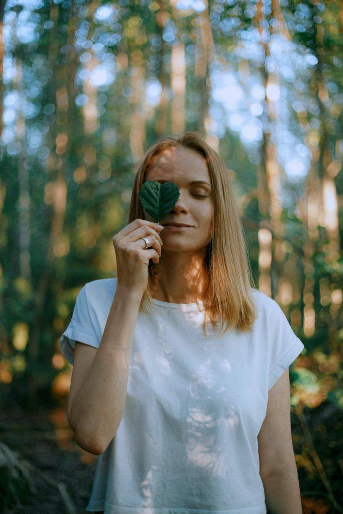 Woman in Forest represnting Why I Don't Drink and 10 Lessons I've Learned in 5 Years Sober