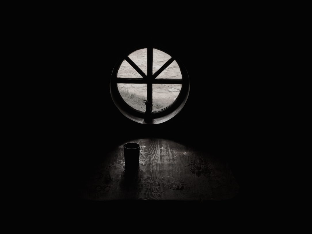 Window from dark room Burnout in Early sobriety