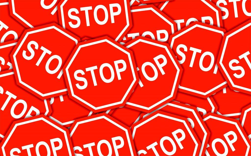 Stop signs How do You Know You Have a Problem With Alcohol? Is it time to stop drinking