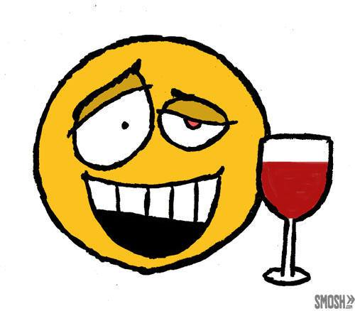 Drunk emoji - alcohol the wonder drug