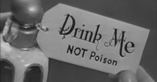 Drink Me Not Poison Alcohol Lies