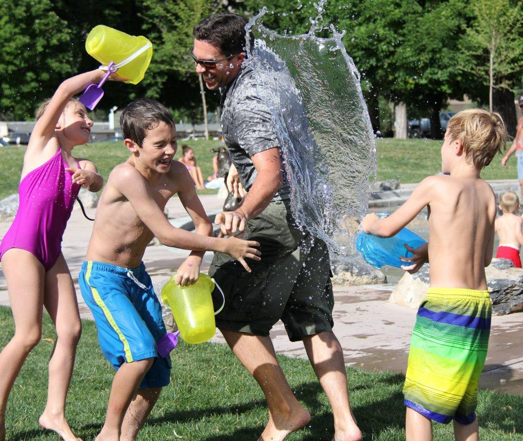Water play Alcohol-Free Inspiration for Dry July 2020 - Day 3