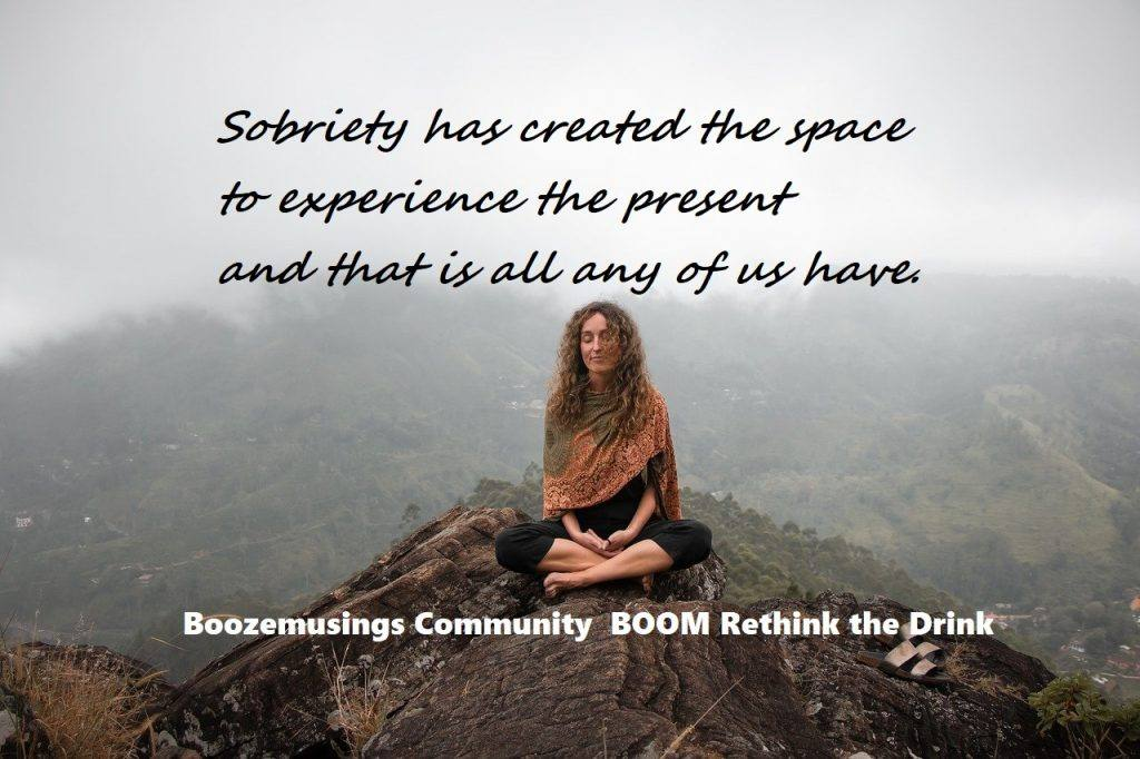 Woman Meditation Dry July 2020 Day 8 alcohol-free Inspiration
