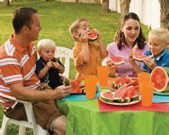 Mormon family picnic- no alcohol