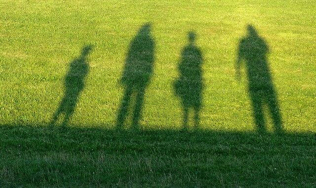 Shadow of family on Grass- Living outside the shadow of alcohol