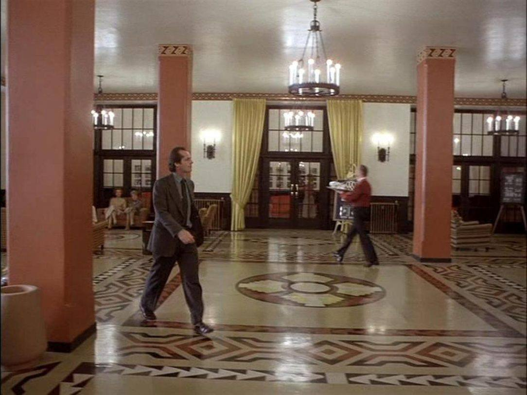 Romancing the Darkness - Thoughts on Alcohol Addiction and The Shining Jack Nicolson in the Lobby of the Overlook Hotel