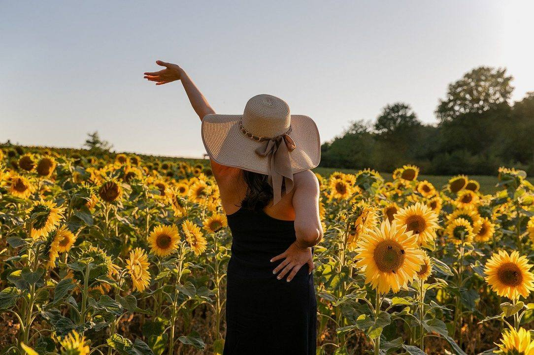 woman in sunflowers the discovery in recovery