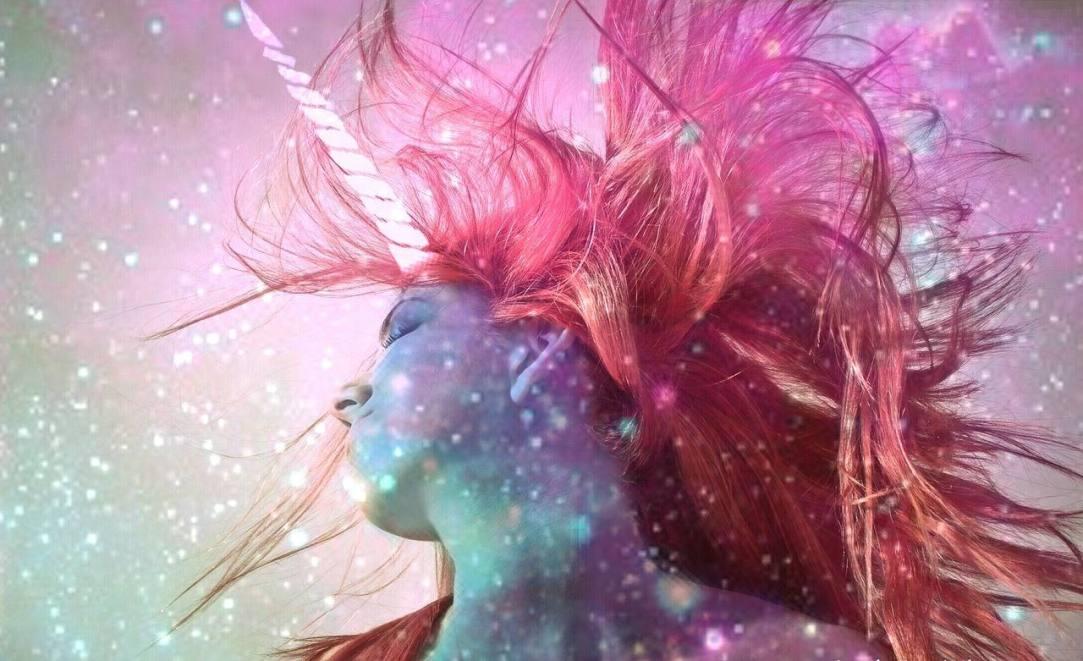 woman unicorn alcohol-free sober october