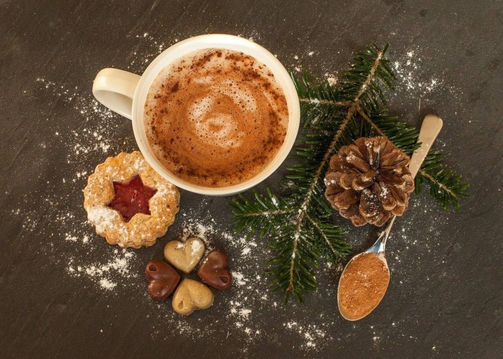 hot chocolate sober holiday season