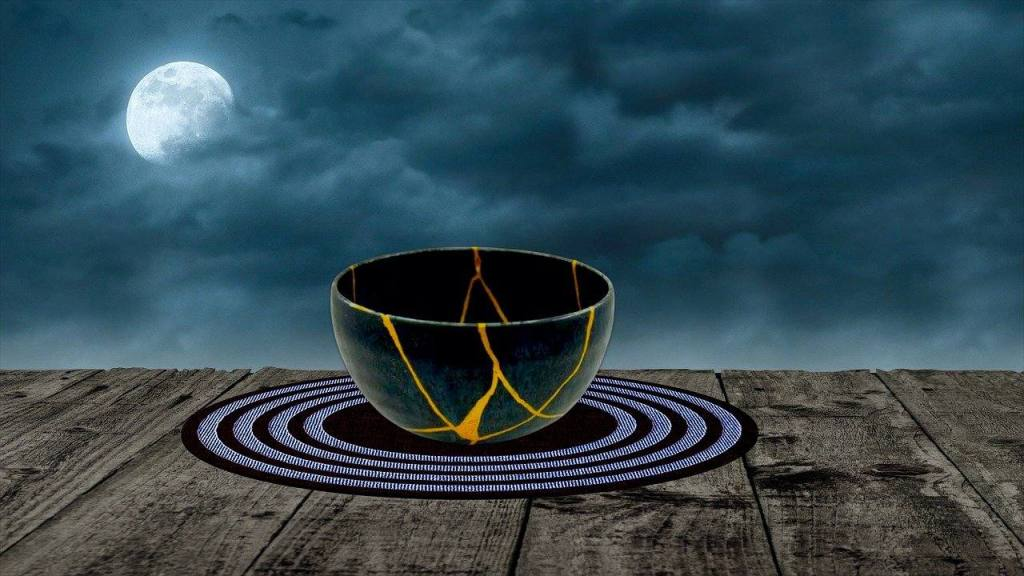 Kintsugi Bowl - Moving Toward Emotional Sobriety with Inspiration from Kintsugi