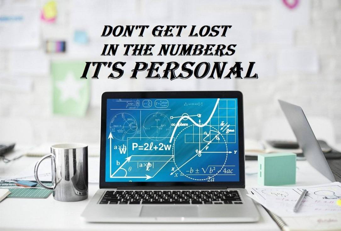 Calculations on Computer Don't get lost in the numbers it's personal alcohol awareness month