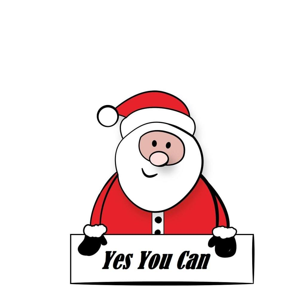 Santa Yes You Can Stay Sober from Christmas to New Year's Eve and Beyond