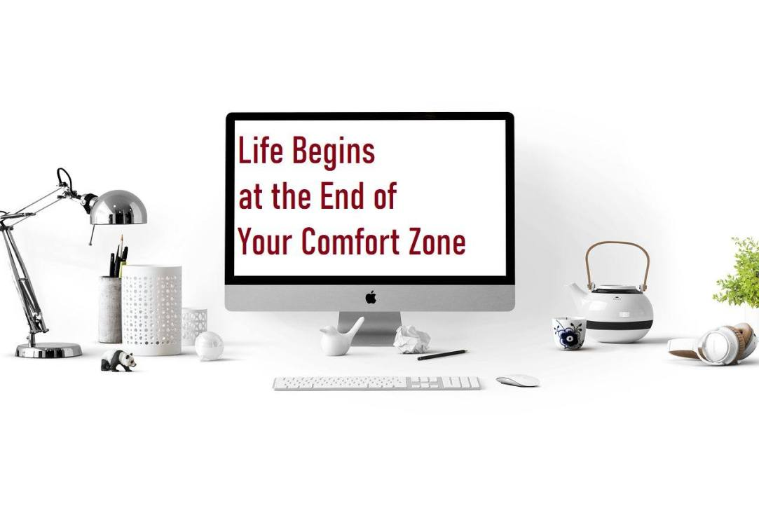 Sober Screen Shots - Life begins at the end of your comfort zone