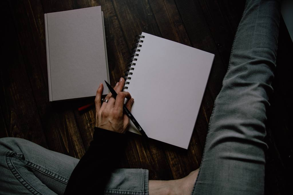 Blank Page Write your story without alcohol
