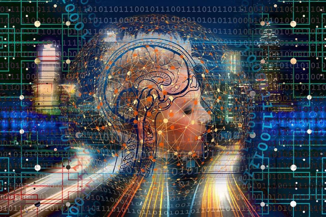 Computer Brain neuroplasticity and alcohol addiction