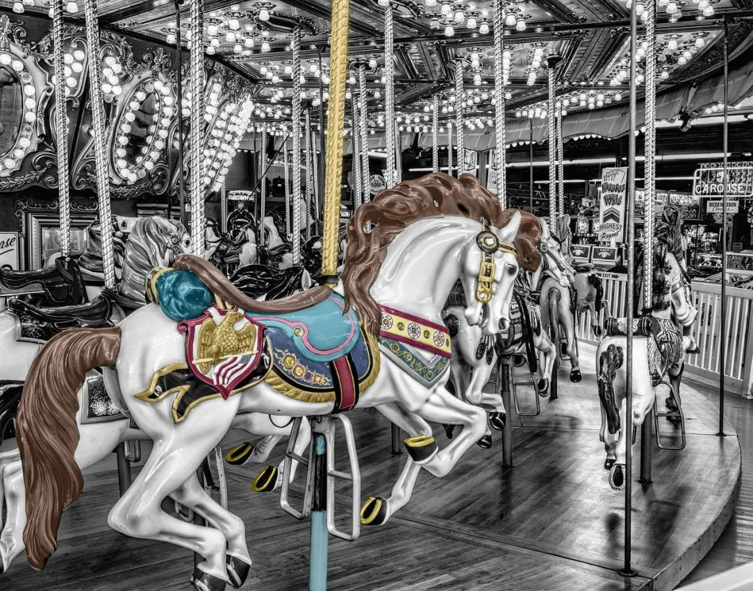 Caousel horse Self Medicating With Alcohol? How to Get Off the Stress Carousel